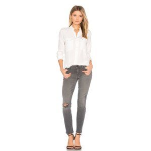 MOTHER The Looker Ankle Fray Jeans in Last Chance